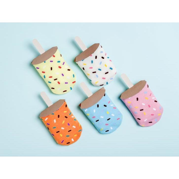 Ice Popsicle Socks - Coconut