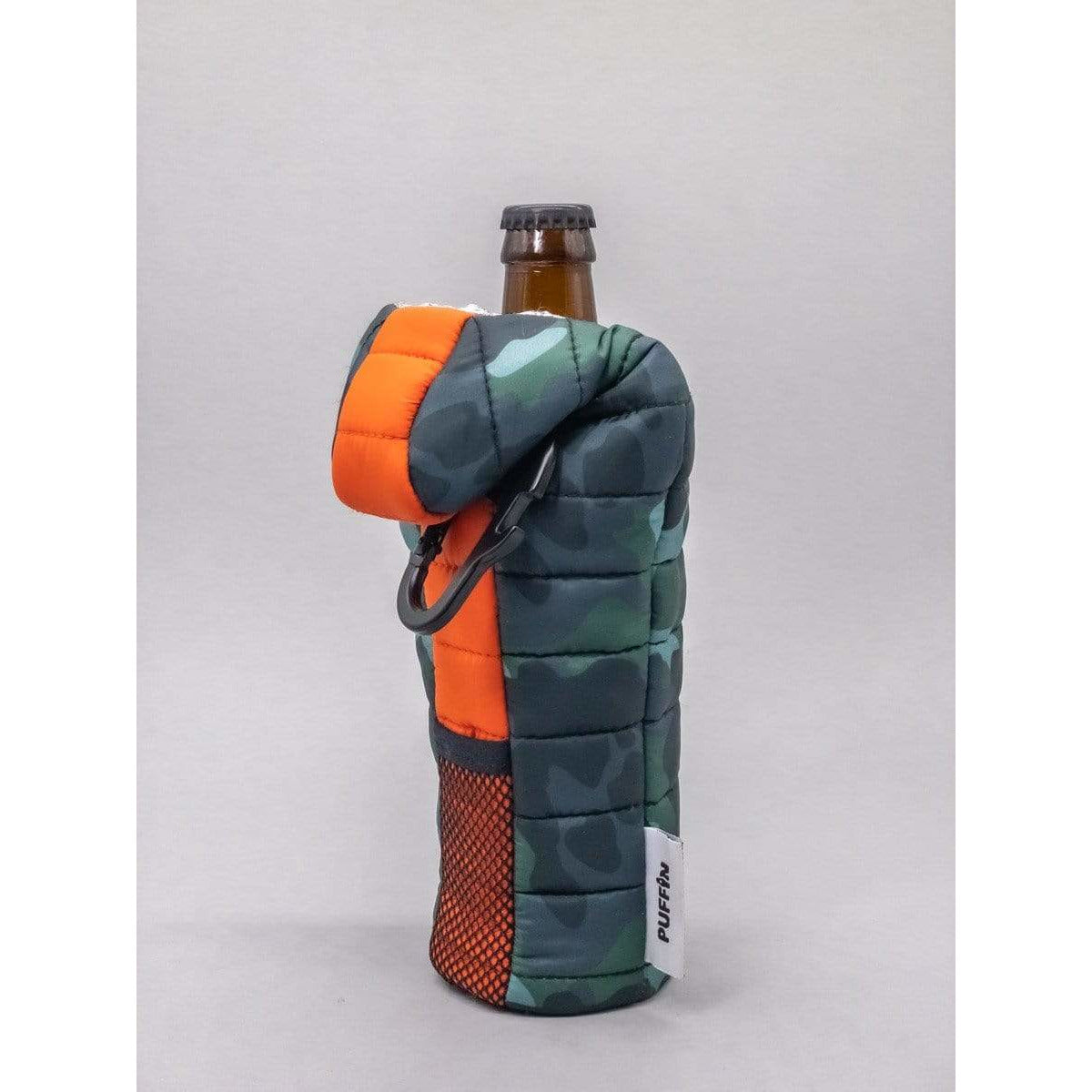 Puffin Camping Gear Beverage Bottle Insulator - Camo Sleeping Bag