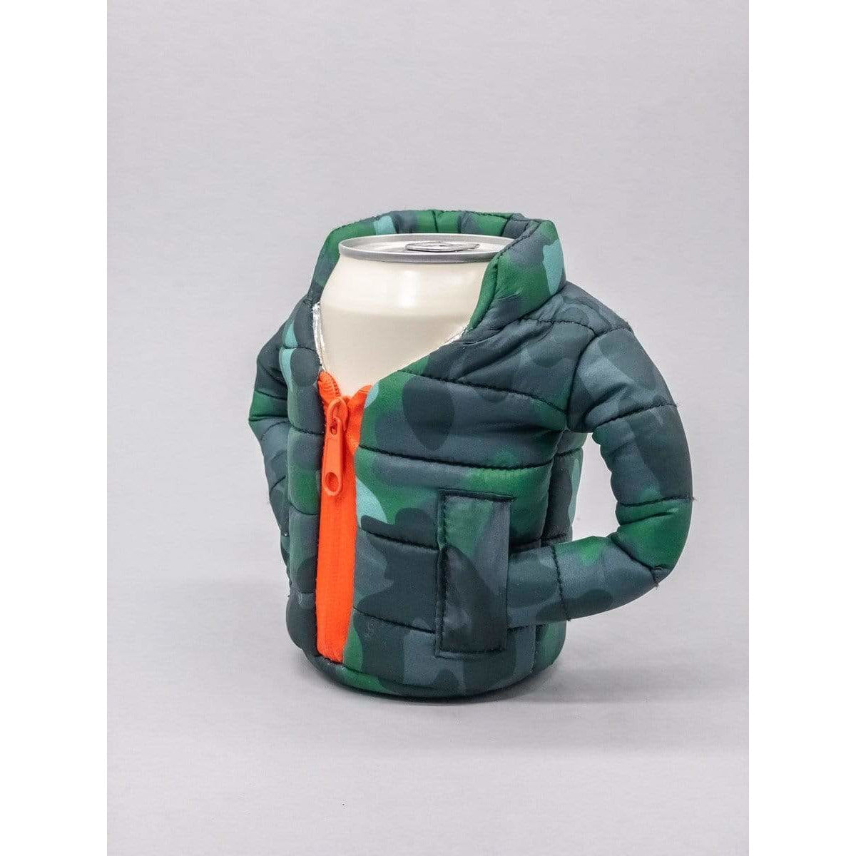 Puffin Beverage Insulators Beverage Can Insulator - Camo Jacket
