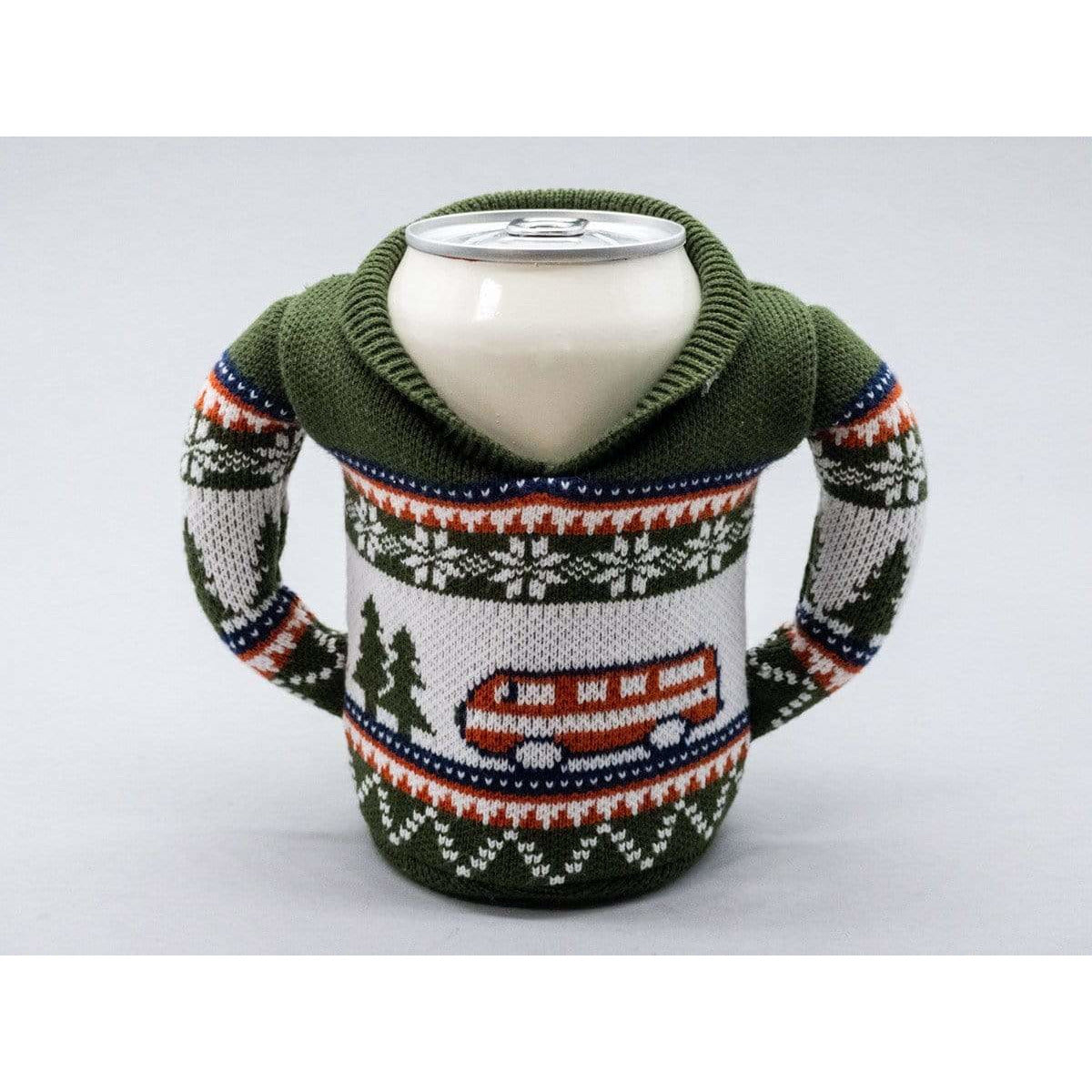 Puffin Beverage Insulators Beverage Can Insulator - Camping Sweater