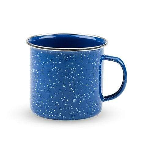 True Brands Mugs Blue Enamel Mug