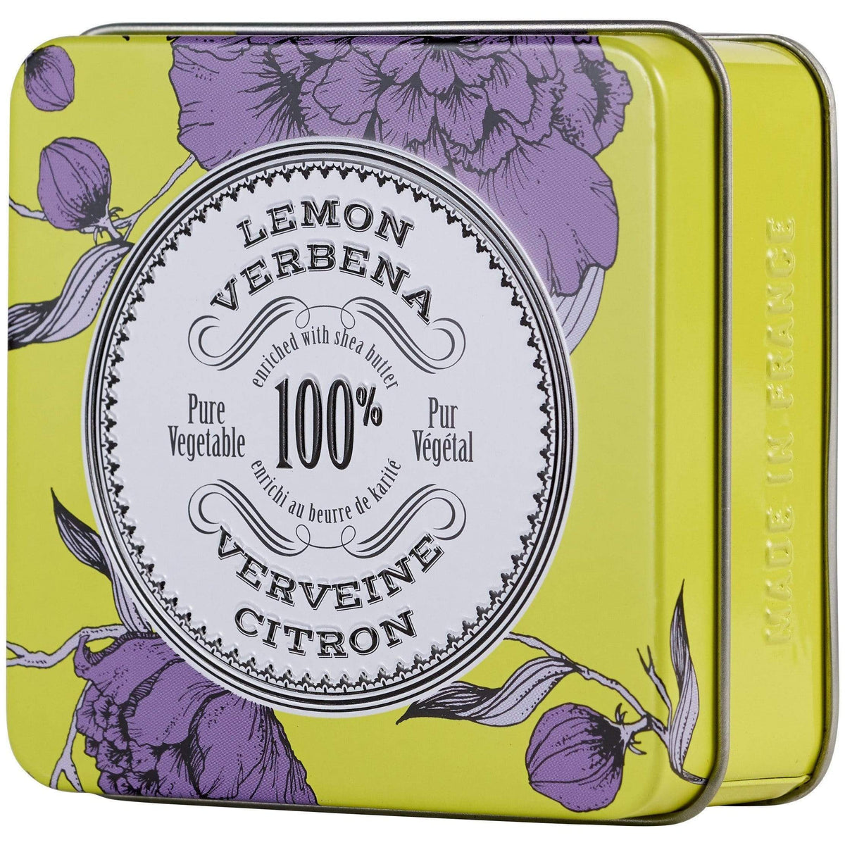 La Chatelaine Lemon Verbena Travel Soap In A Tin