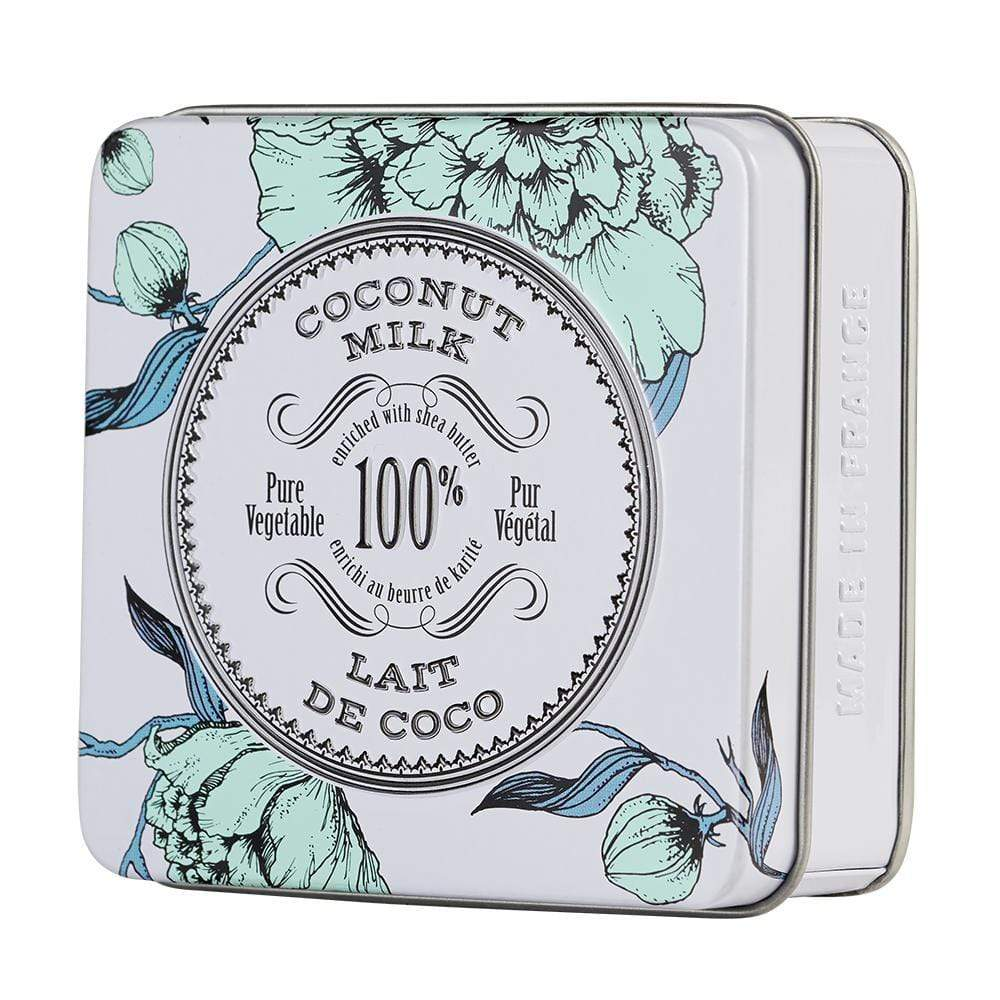 La Chatelaine Coconut Milk Travel Soap In A Tin