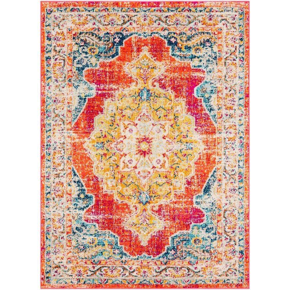 "Morocco Red - 5'3"" x 7'3"" Area Rug"