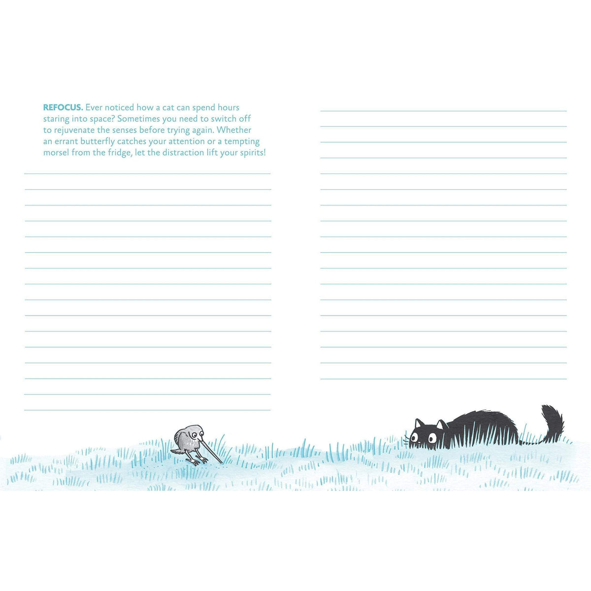 Cattitude Journal - Discover The Purr-fect You