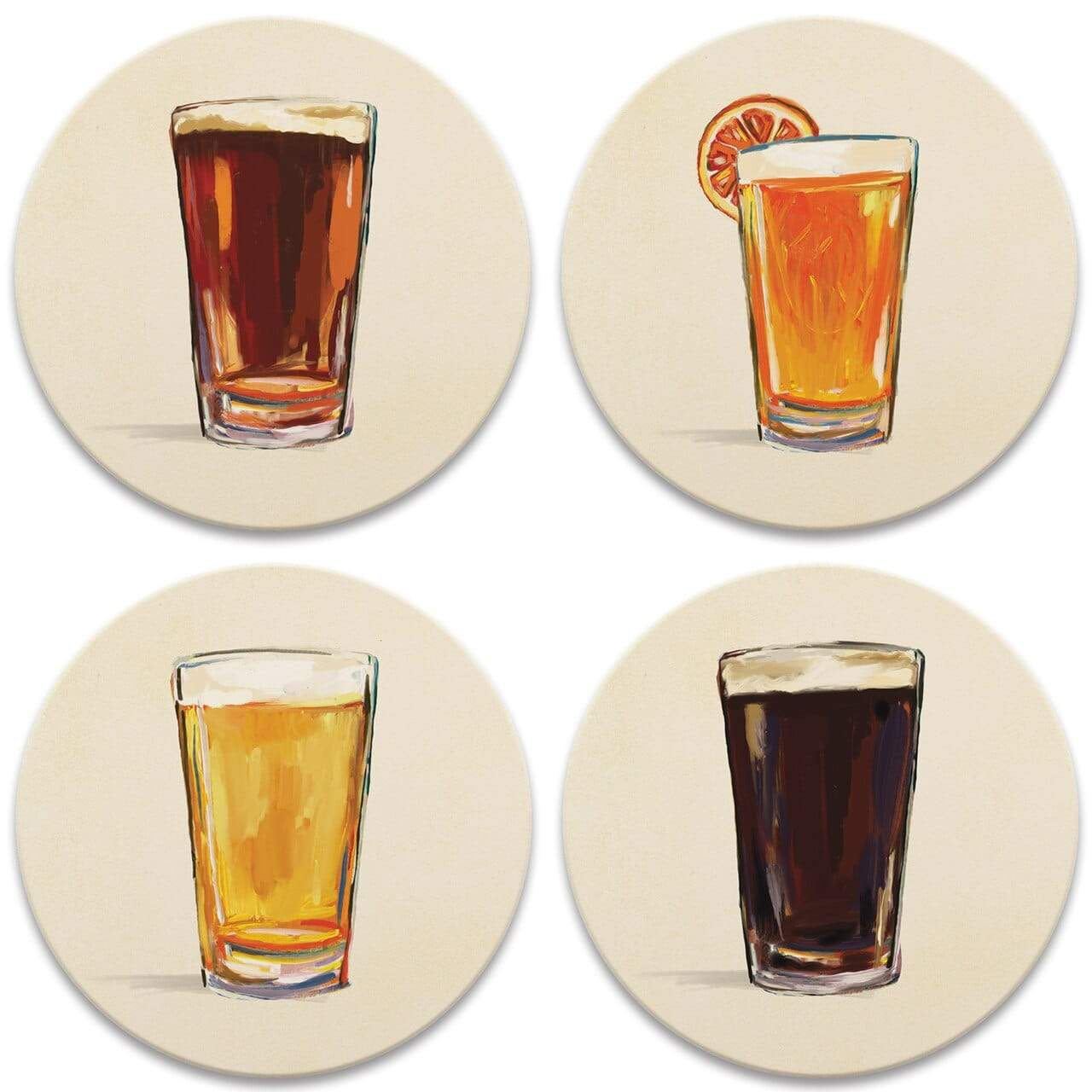 CoasterStone Coasters Craft Beer Coaster - Set of 4