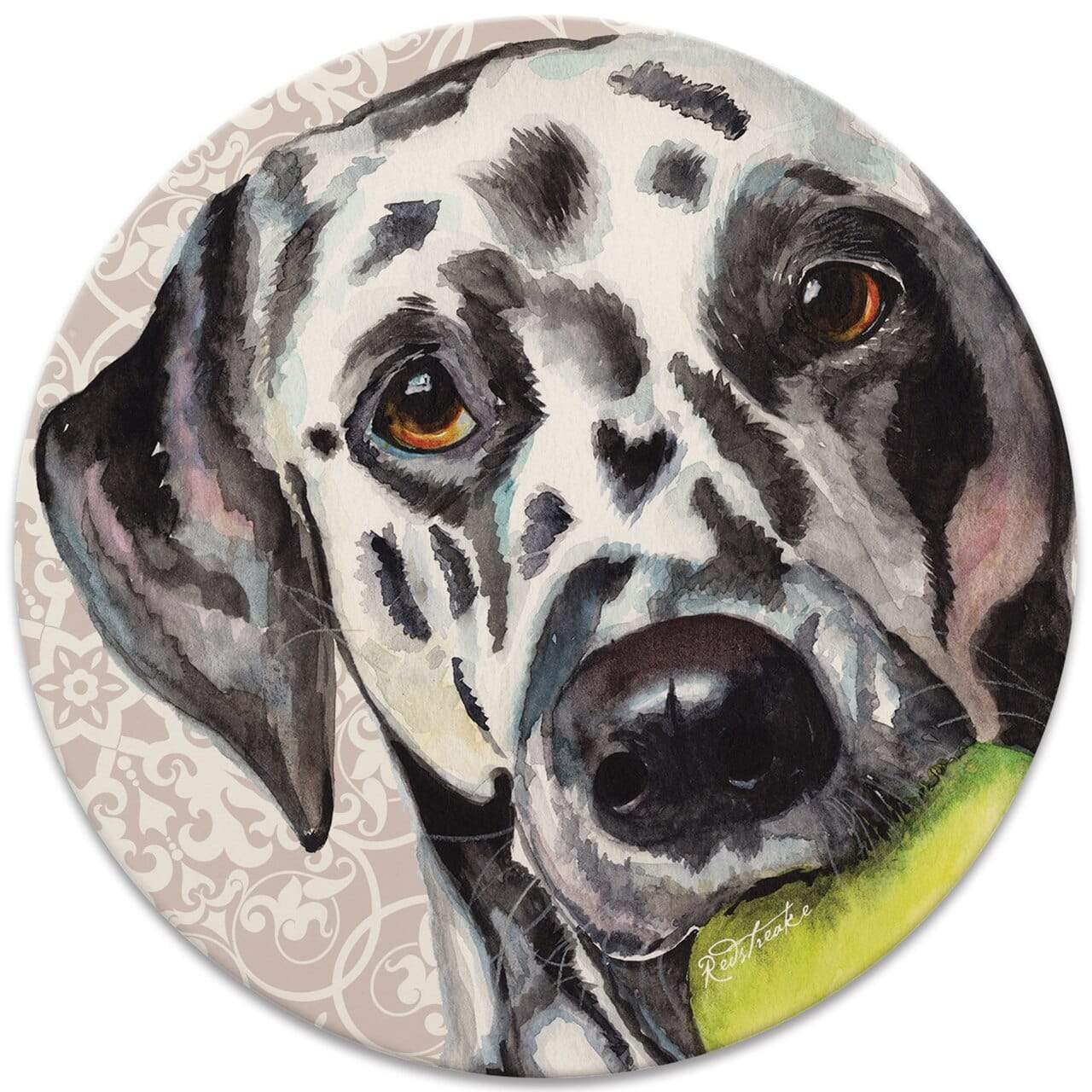 CoasterStone Coasters FurKids Dogs Dalmatian Coaster - Set of 4