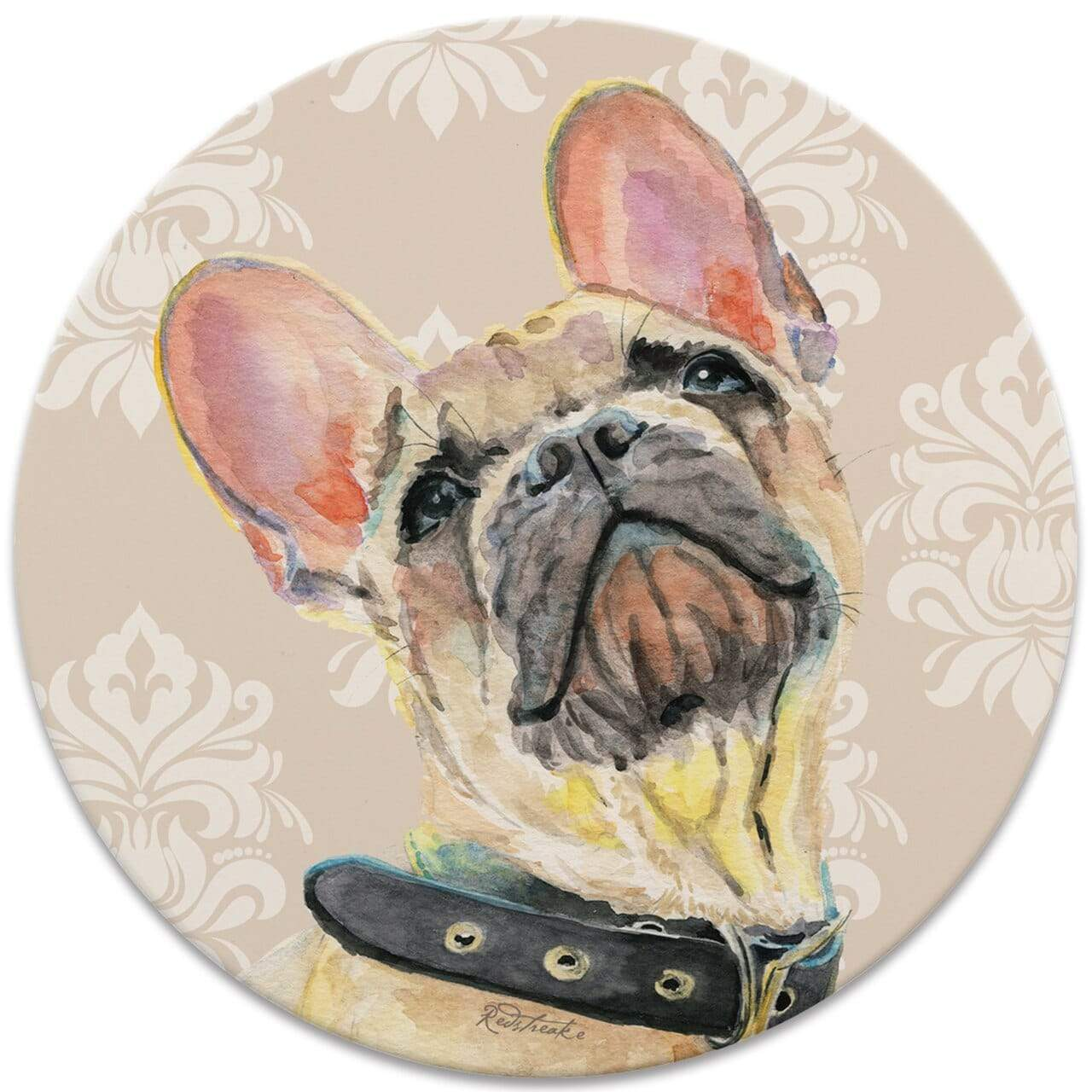 CoasterStone Coasters FurKids Dogs French Bulldog Coaster - Set of 4