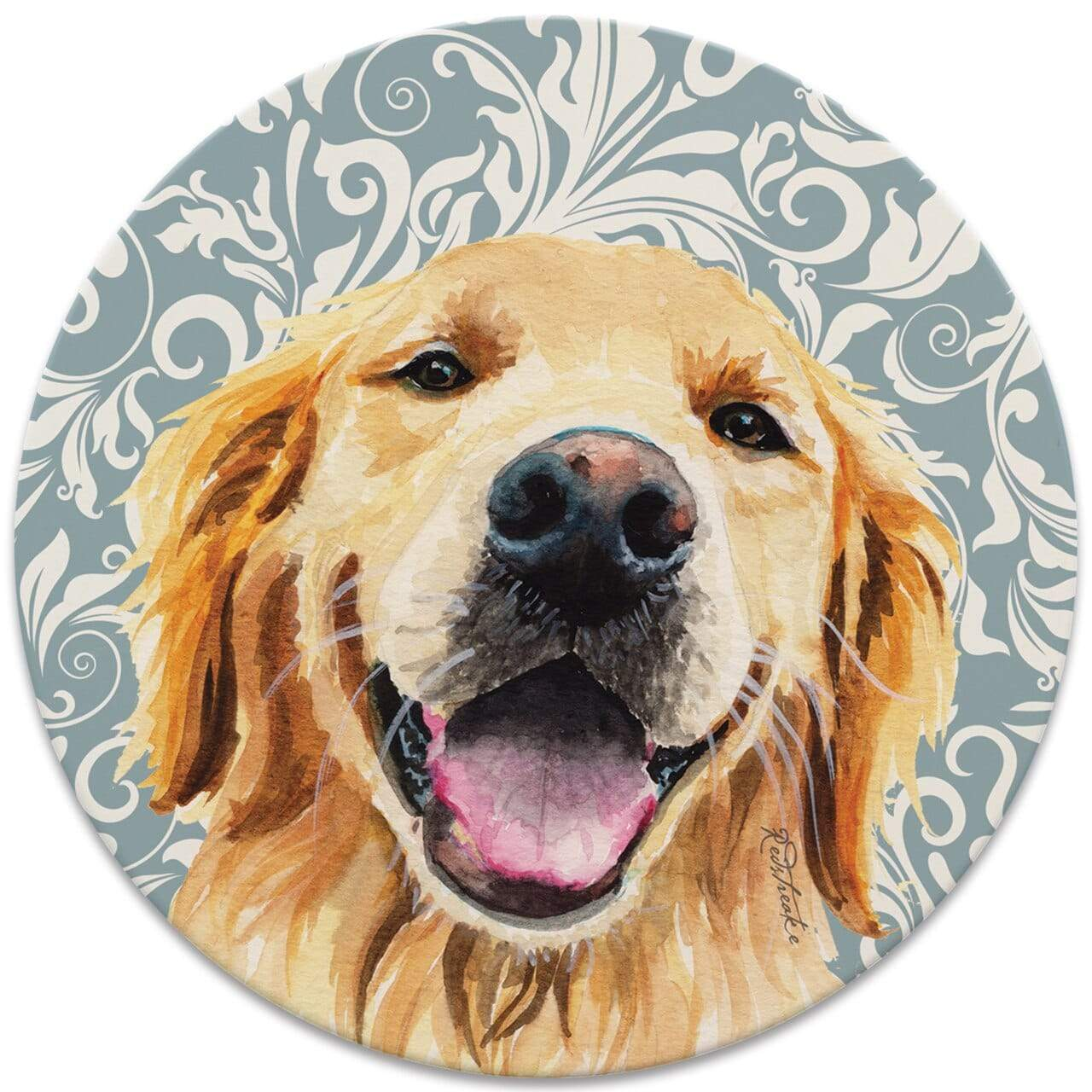CoasterStone Coasters FurKids Dogs Golden Retriever Coaster - Set of 4