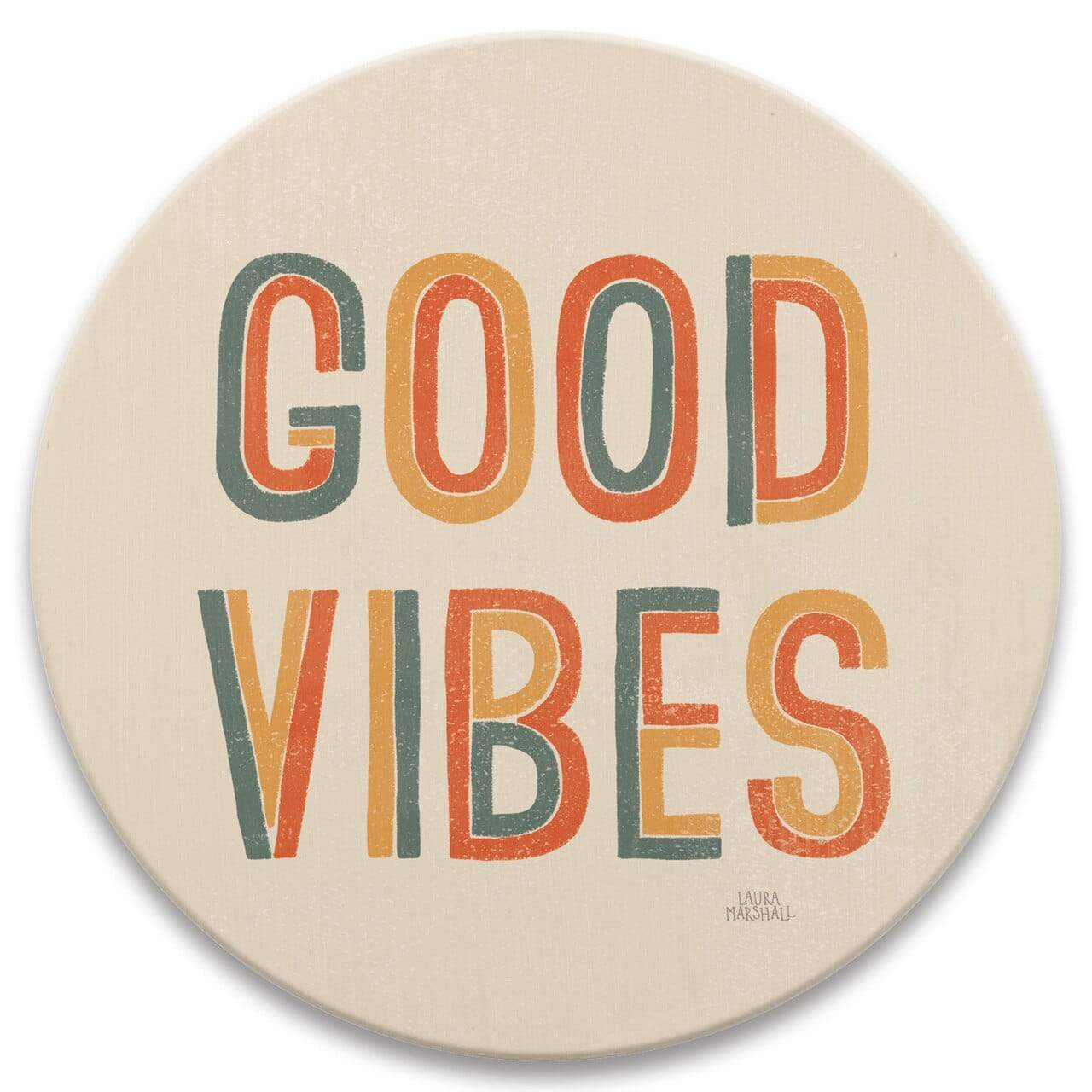 CoasterStone Coasters Good Vibes Coaster - Set of 4