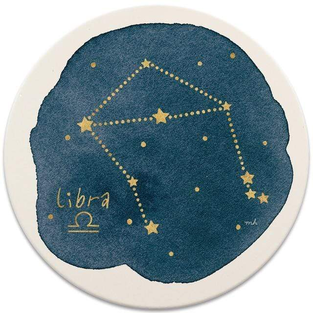 CoasterStone Coasters Libra Sign Coaster - Set of 4