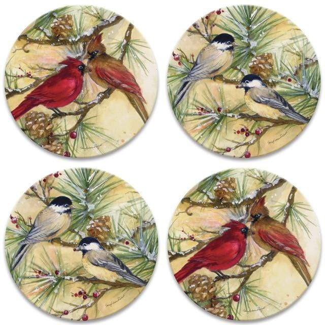 CoasterStone Coasters Snowbirds Coaster - Set of 4
