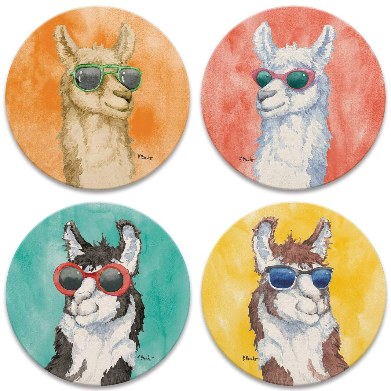 CoasterStone Coasters Sunny Farm Coaster - Set of 4