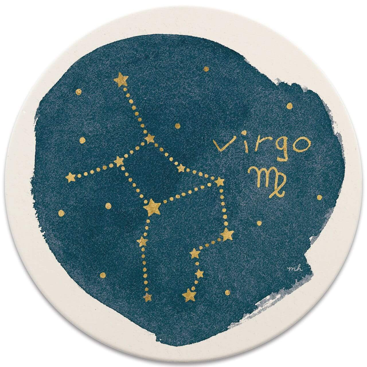 CoasterStone Coasters Virgo Sign Coaster - Set of 4