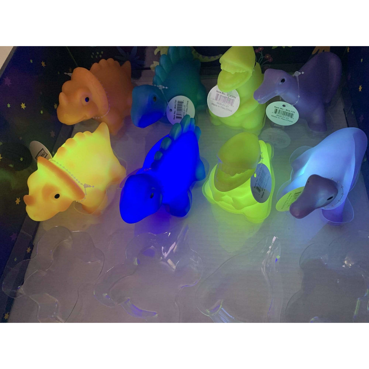Karma Kiss Dino Color Changing Night Light
