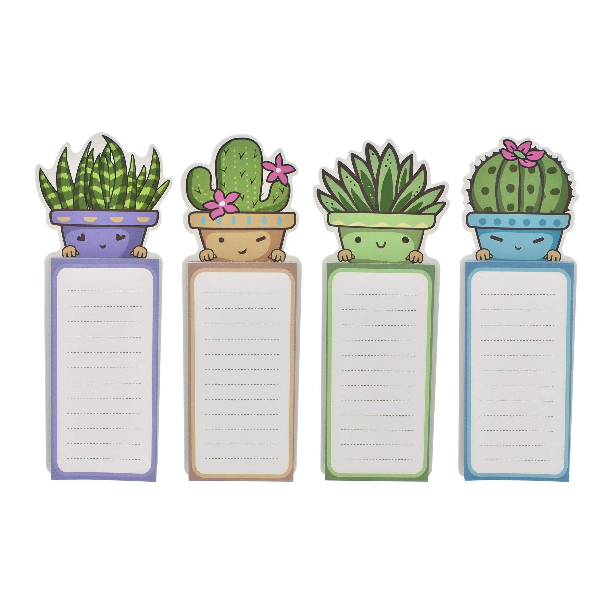 Karma Kiss Succulent Magnetic Notepad