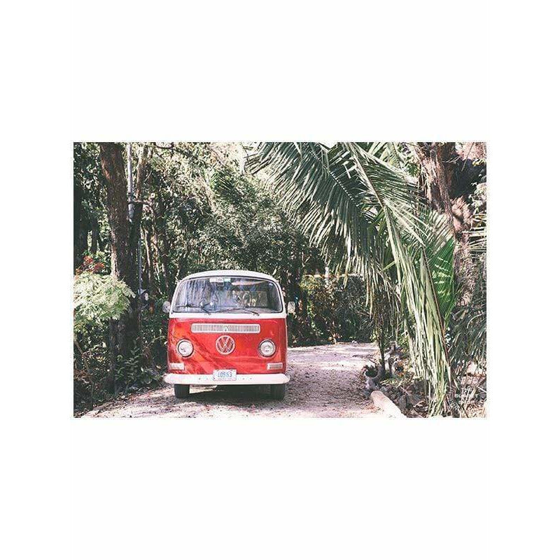 Photo Print Poster - Jingle Bus