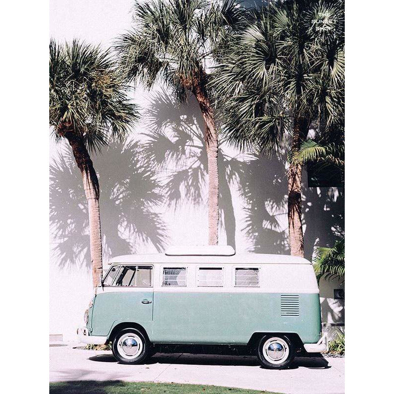 Photo Print Poster - Palmetto Bus