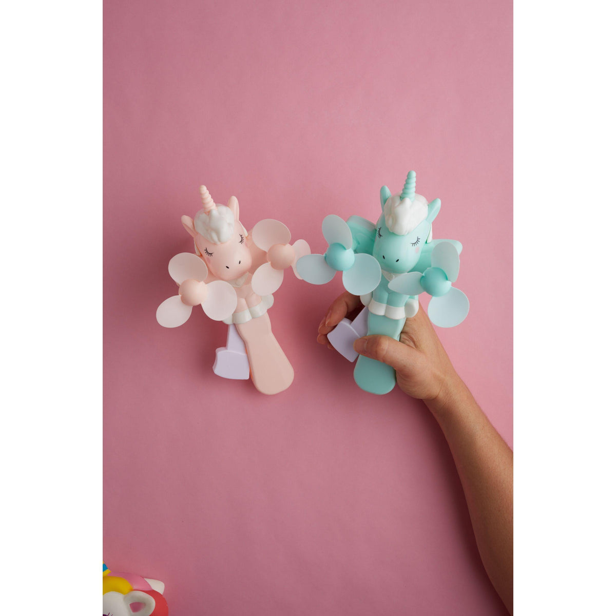Unicorn Hand Powered Fan