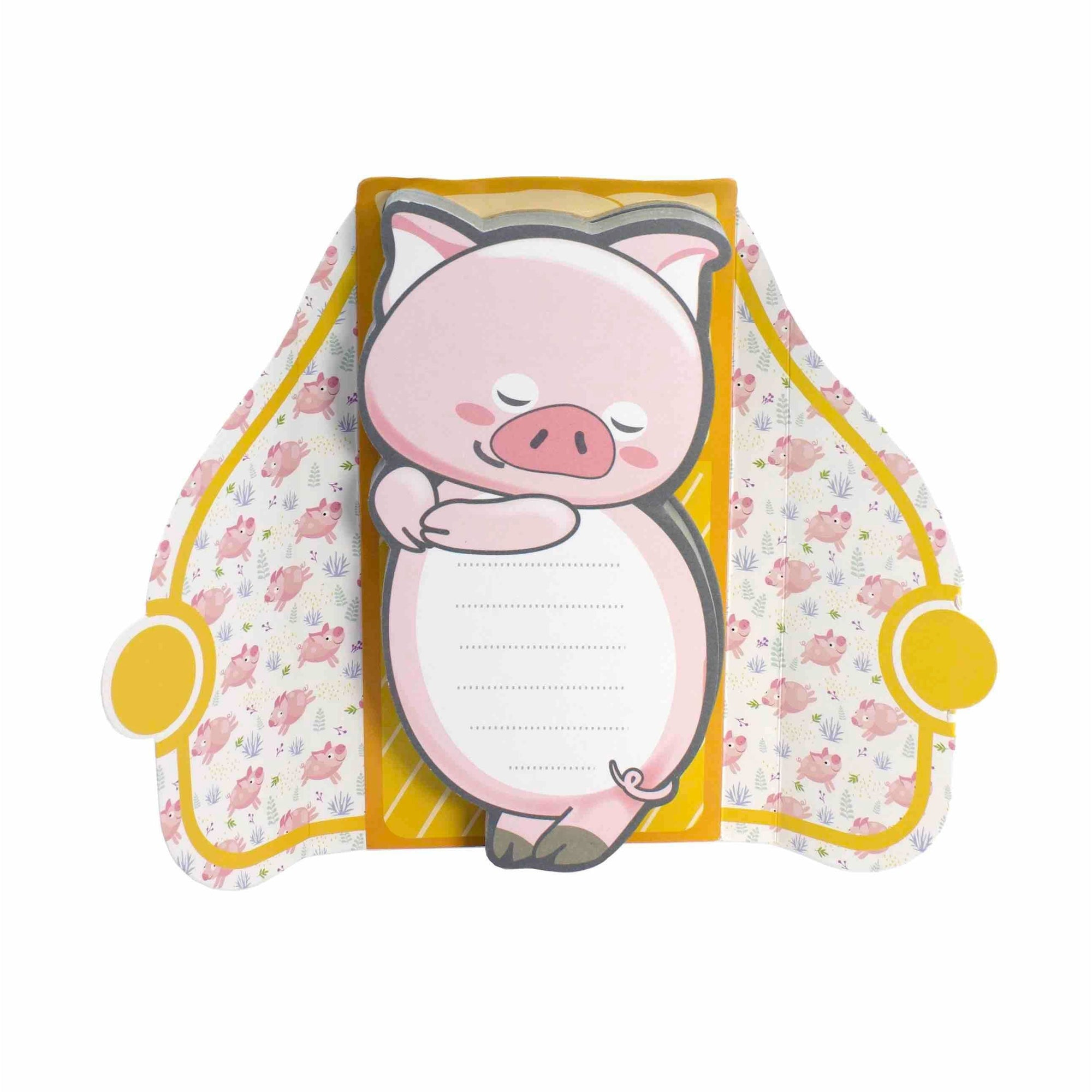 Streamline Stationery Pigs in a Blanket Notepad