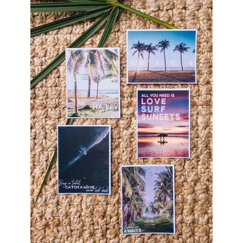 Wanderlust Postcards Set