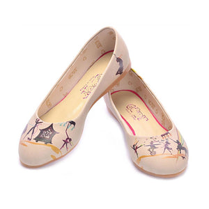 Circus Ballerinas Shoes 1004, Goby, GOBY Ballerinas Shoes