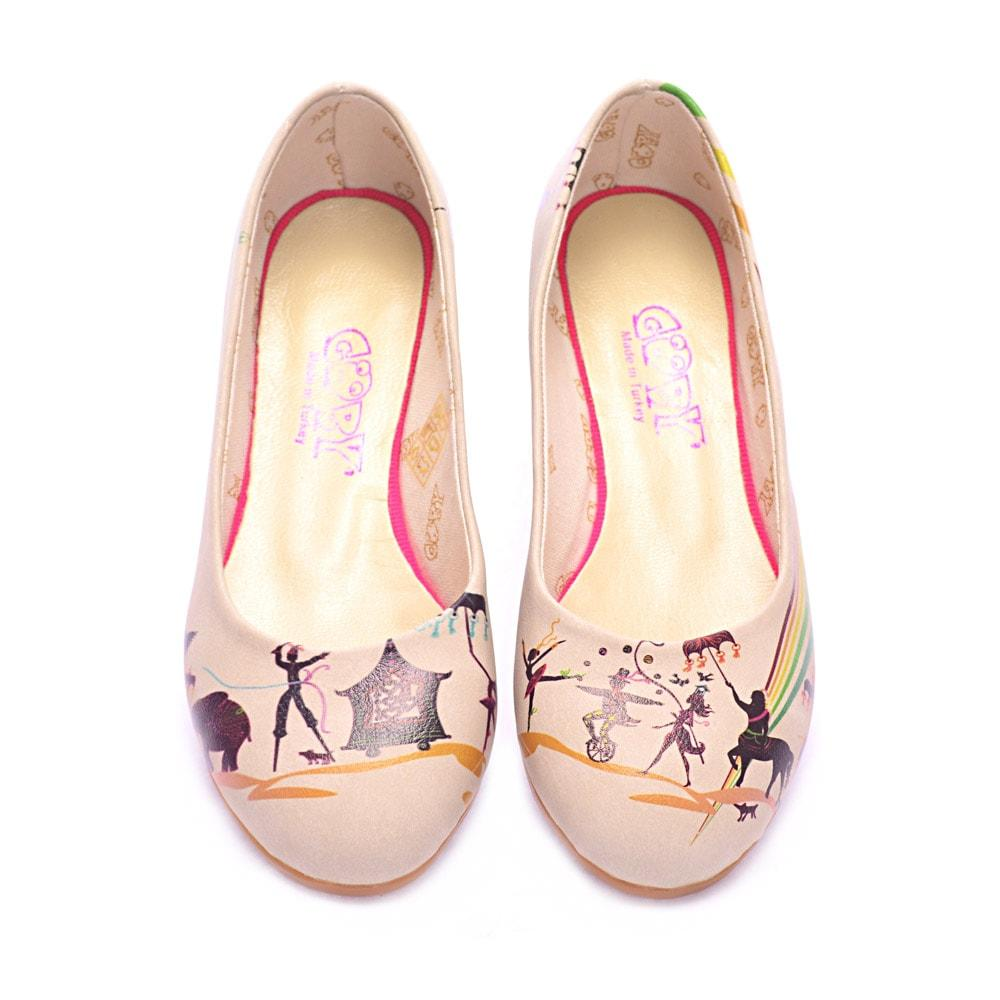 GOBY Circus Ballerinas Shoes 1004