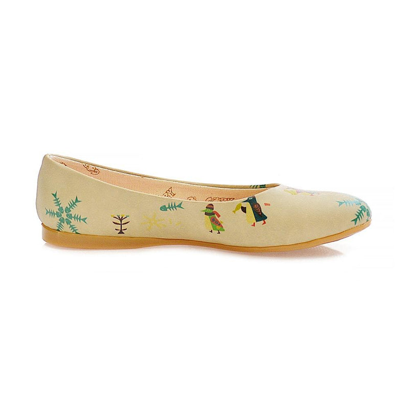 Penguins Ballerinas Shoes 1006 (1405793337440)