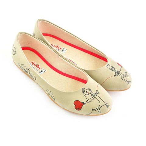 GOBY Love Story Ballerinas Shoes 1009