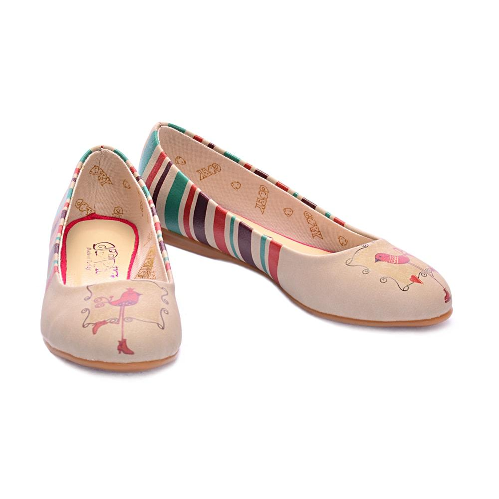 Puppet Bird Ballerinas Shoes 1017