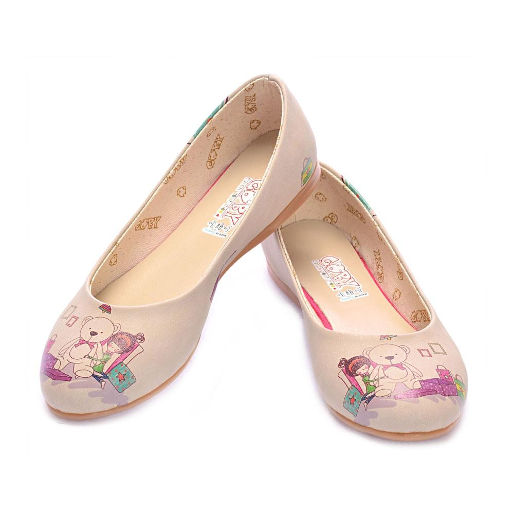 Teddy Bear Ballerinas Shoes 1020