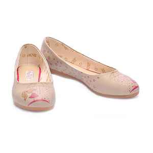 GOBY Heart Raining Ballerinas Shoes 1023