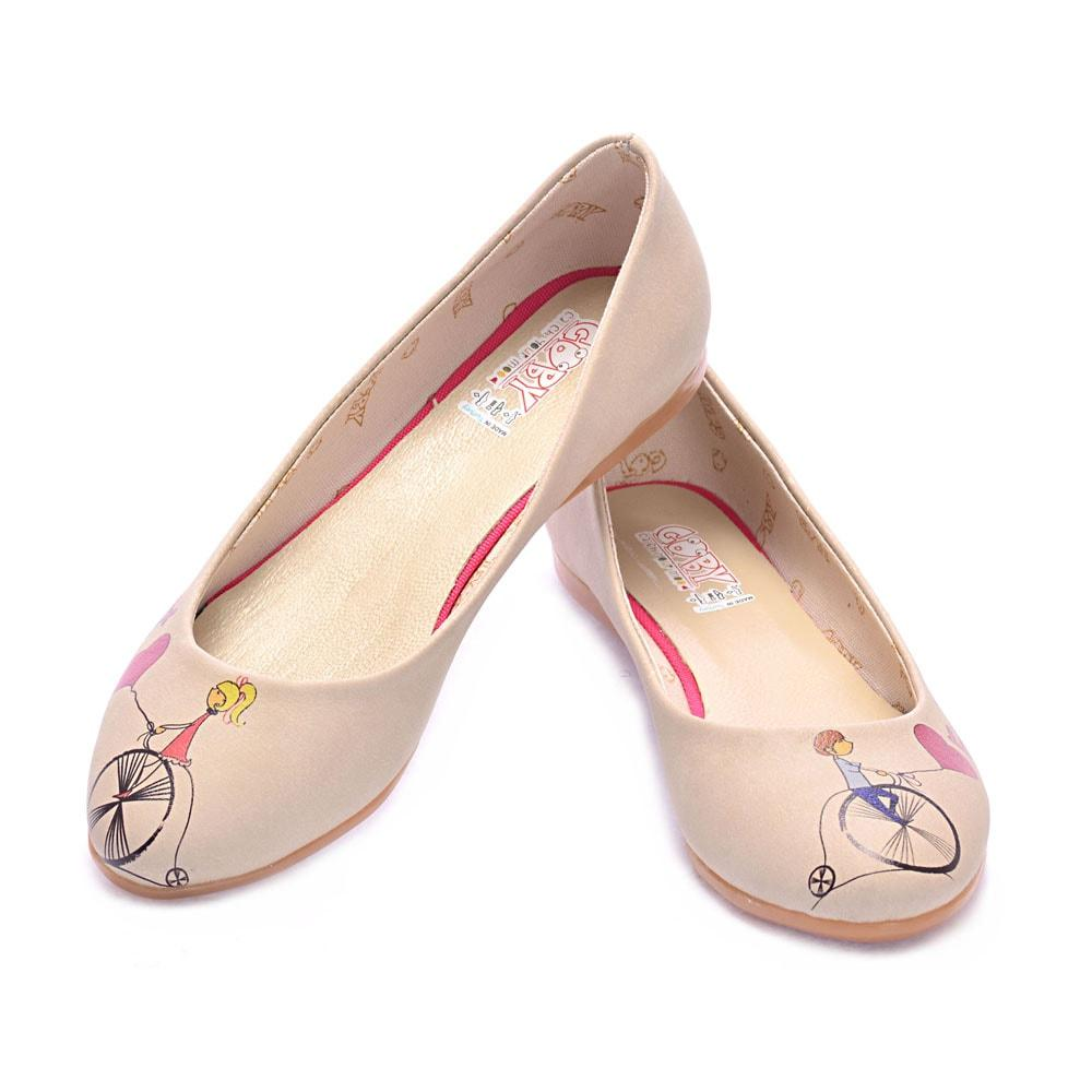 Follow Your Balloons Ballerinas Shoes 1024 - Goby GOBY Ballerinas Shoes