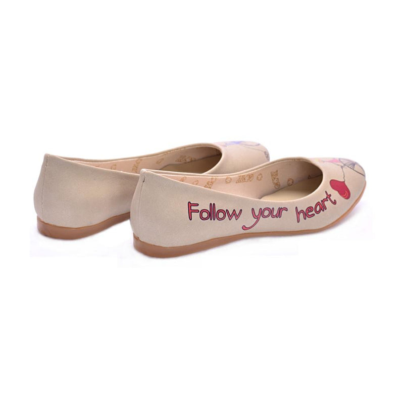 Follow Your Balloons Ballerinas Shoes 1024