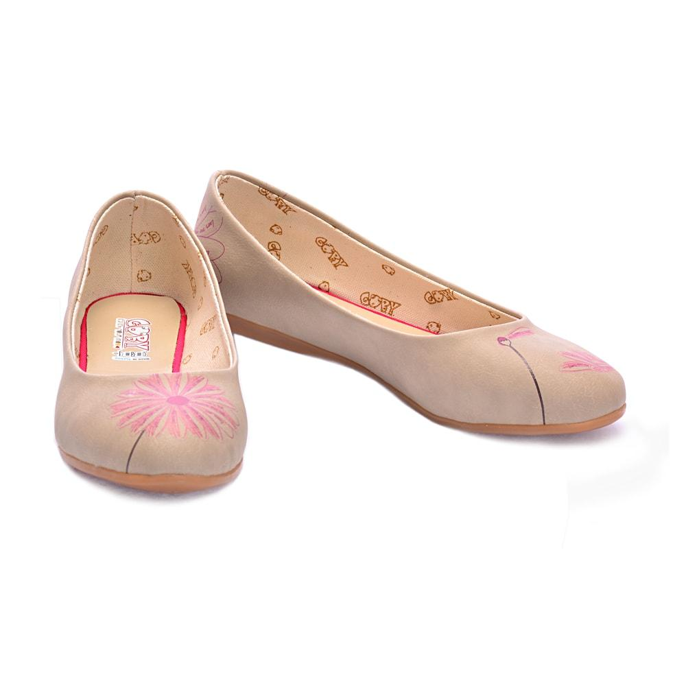 GOBY Flower Ballerinas Shoes 1026
