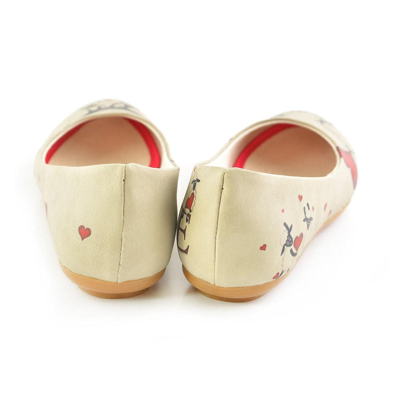 Sheep Love Ballerinas Shoes 1029 (506261045280)