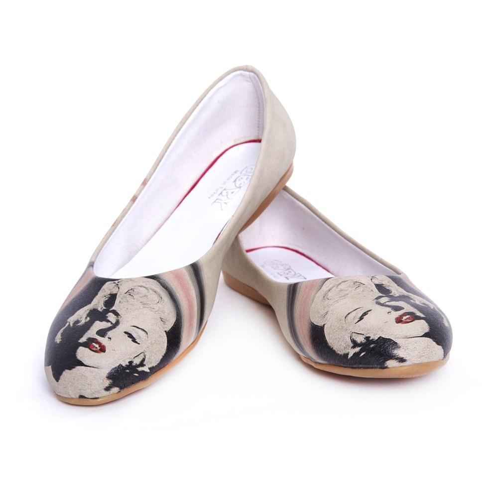 GOBY Marilyn Monroe Ballerinas Shoes 1036