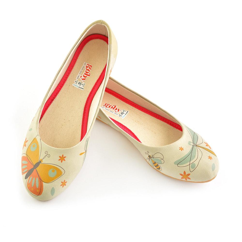 Wings Ballerinas Shoes 1038