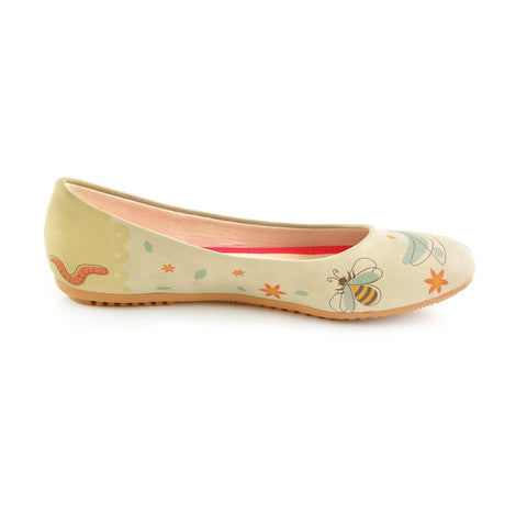 GOBY Wings Ballerinas Shoes 1038