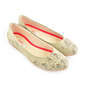 GOBY Daisies Ballerinas Shoes 1040