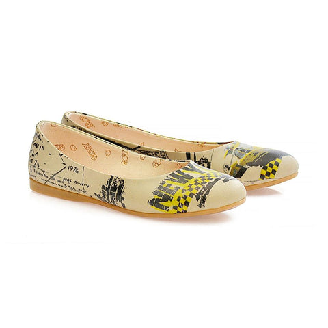 GOBY Taxi Ballerinas Shoes 1042