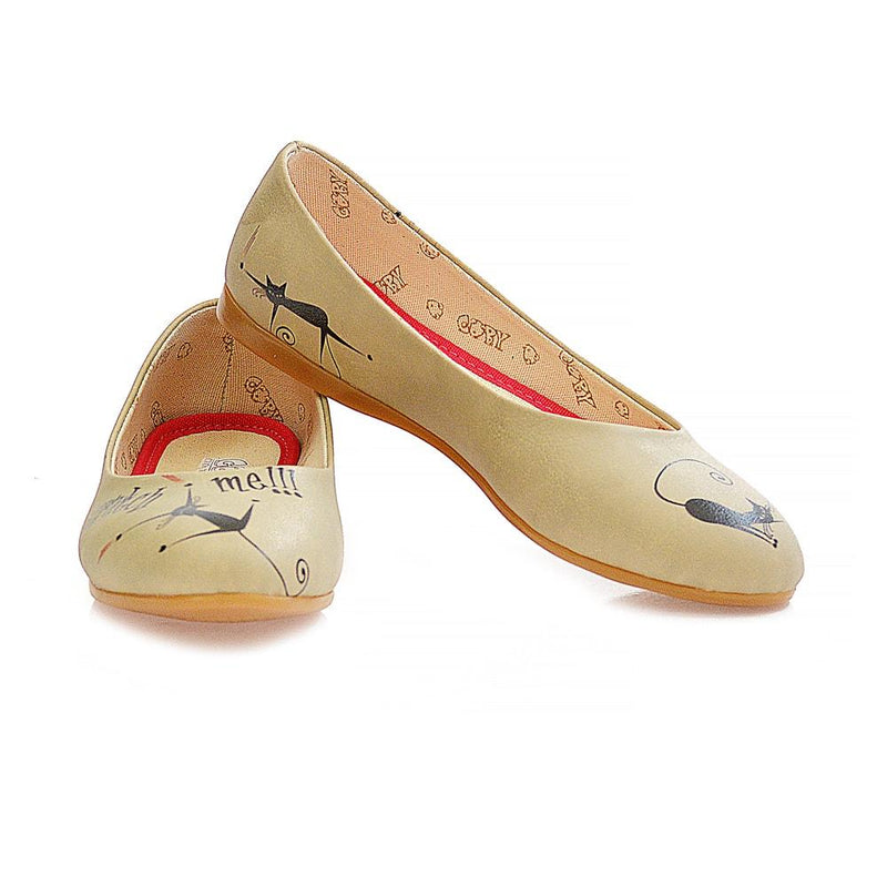 Scratch Me Ballerinas Shoes 1049 (506261438496)