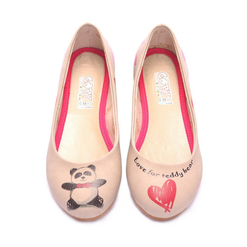 Panda Ballerinas Shoes 1070 (506262781984)