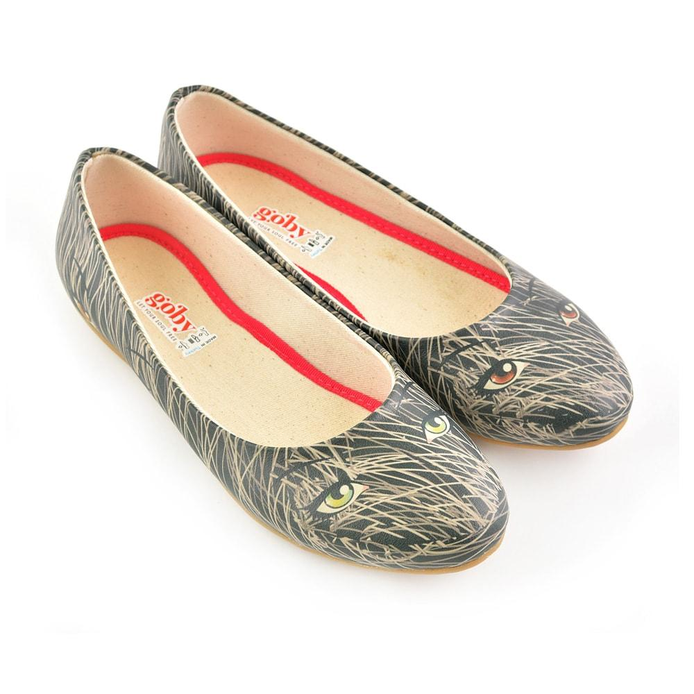 GOBY Magical Eyes Ballerinas Shoes 1073