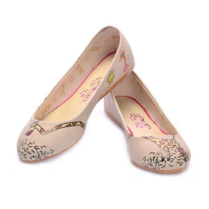 Baby Giraffe Ballerinas Shoes 1074, Goby, GOBY Ballerinas Shoes