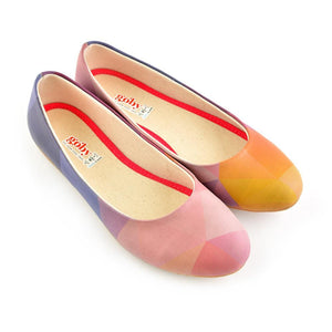 GOBY Soft Colors Ballerinas Shoes 1076