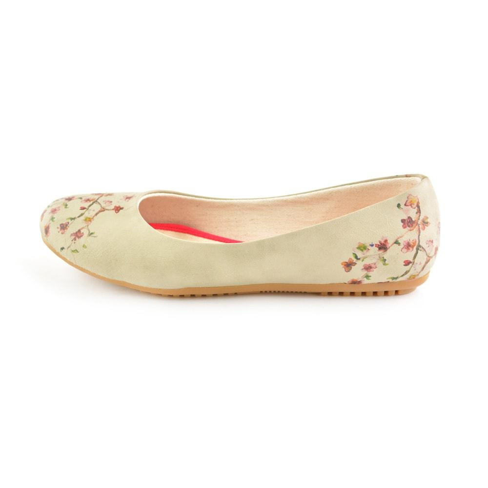 GOBY New Cherry Blossom Ballerinas Shoes 1091
