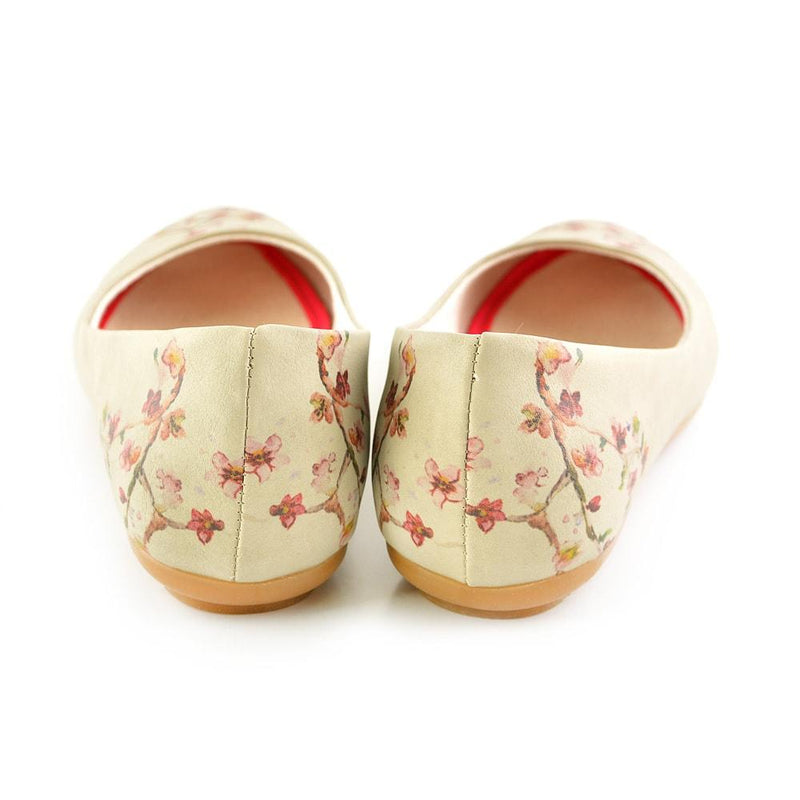 New Cherry Blossom Ballerinas Shoes 1091