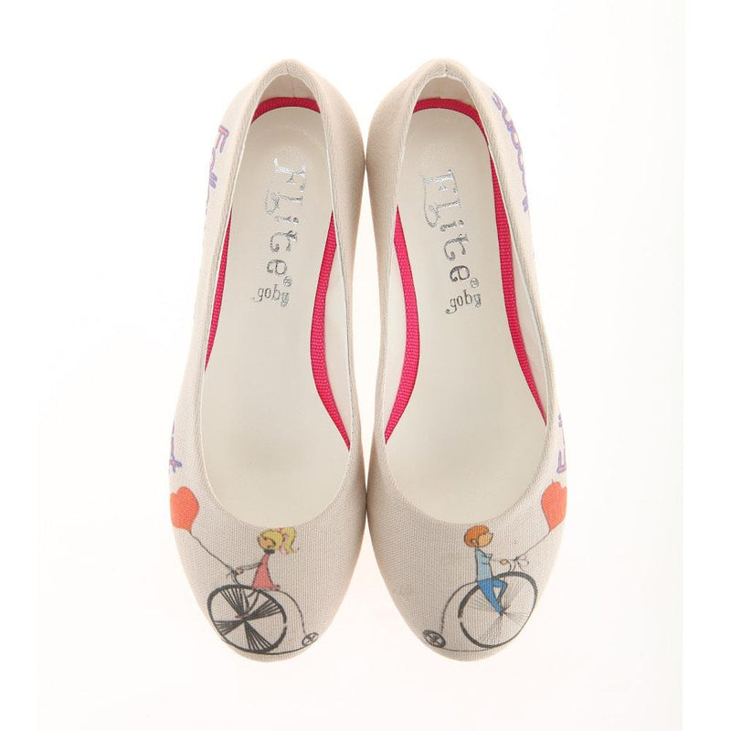 Follow Your Balloons Ballerinas Shoes 1109 (1405793992800)