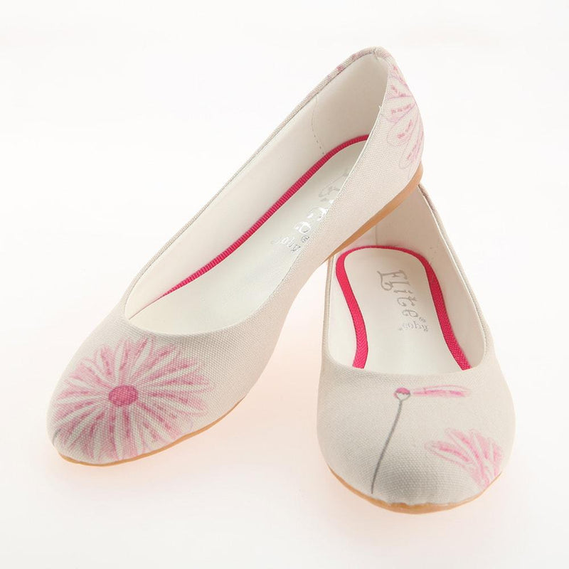 Flower Ballerinas Shoes 1121 (506264092704)